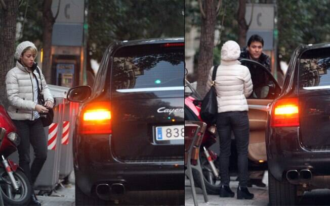 Shakira e o Porsche Cayenne Turbo
