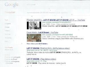 Página do Google
