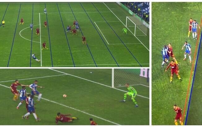Os lances polêmicos da partida entre Porto e Roma