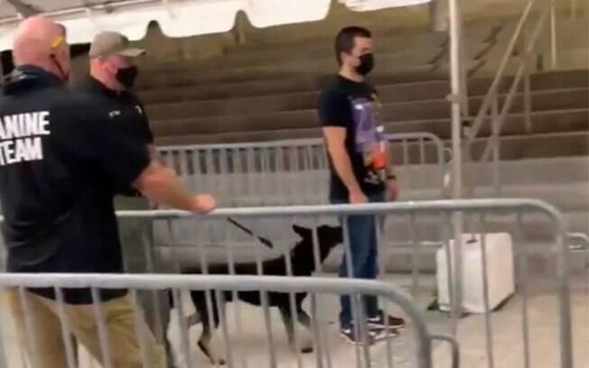Cães farejadores de Covid-19 foram usados pela primeira vez na NBA