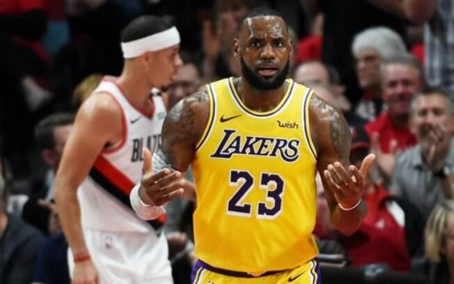 Estreia de LeBron James pelo Lakers