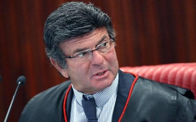 Luiz Fux é relator do processo movido pela CNI contra a tabela do frete; o julgamento ainda não tem data para acontecer
