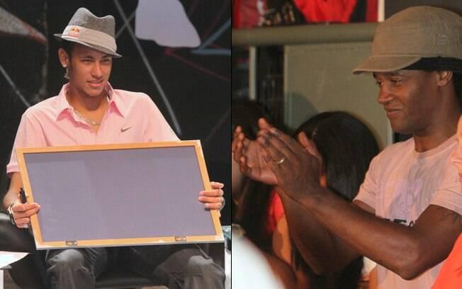 Neymar e Toni Garrido