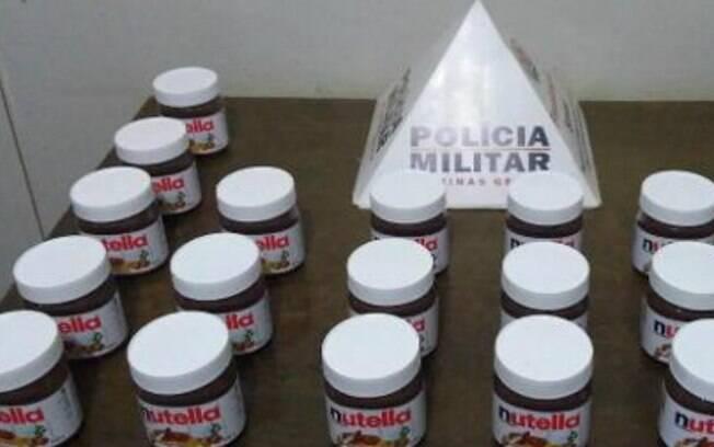 Mulher tentou roubar 22 potes de Nutella