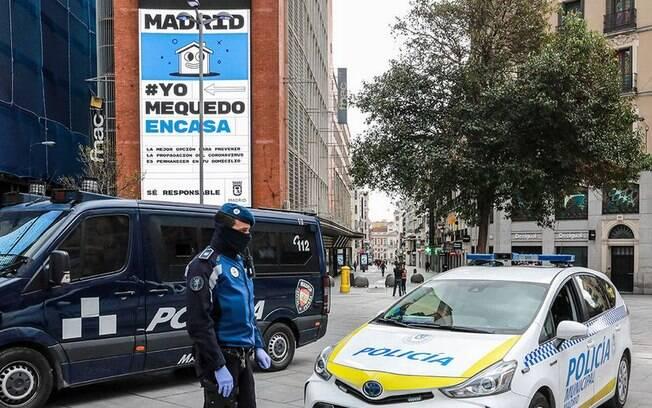 Madrid lançou a campanha