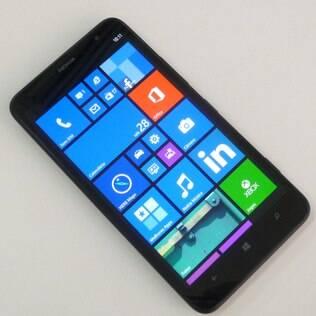 Lumia 1320 tem tela de seis polegadas