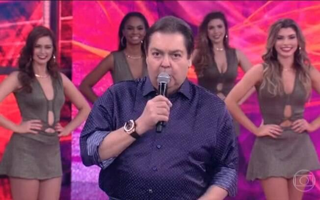 Faustão critica vinheta de final de ano da Globo