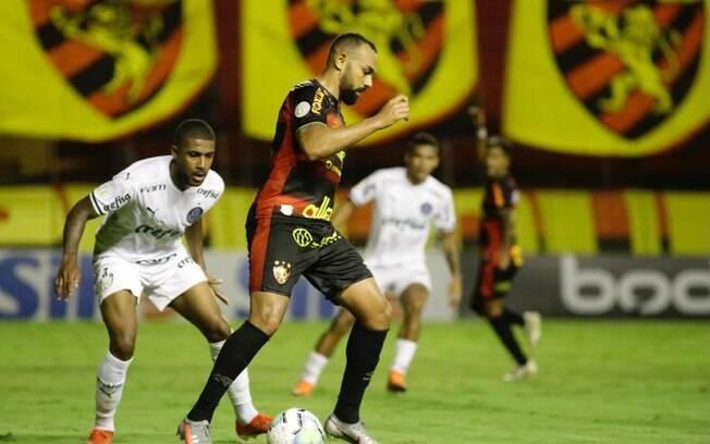 Sport x Palmeiras foi marcado por polêmica