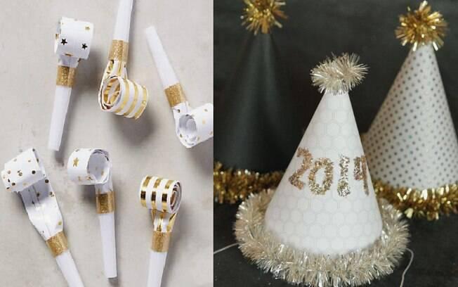 Artigos de festa podem ser personalizados para ficar a cara do Ano Novo e animar a comemoração em casa