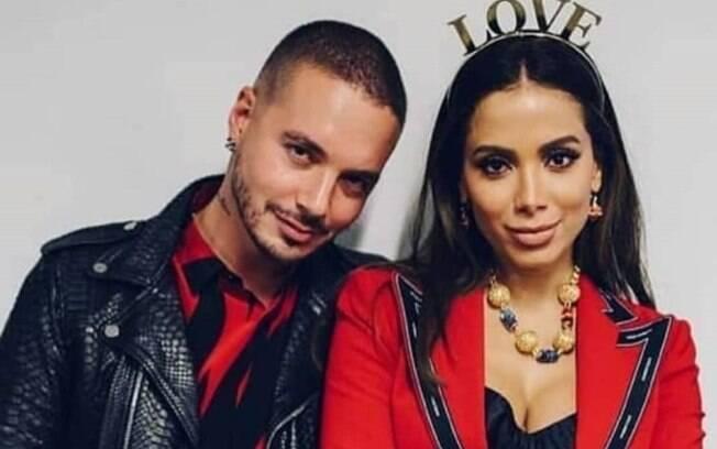 J Balvin e Anitta