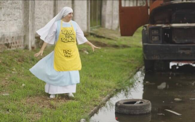 Irmã Inez encontrou forma de se aproximar da linguagem jovem