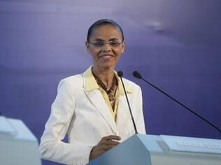 A candidata à presidência Marina Silva é adepta do