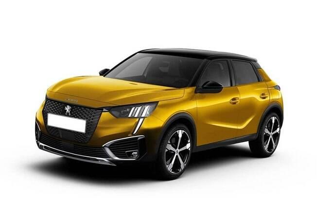Peugeot 2008 também terá características da nova geração do 208 do Salão de Genebra (Suíça)