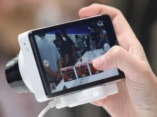 Galaxy Camera foi apresentada pela Samsung durante a IFA 2012