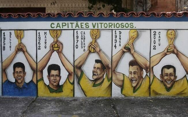 Image result for capitães do brasil nas copas