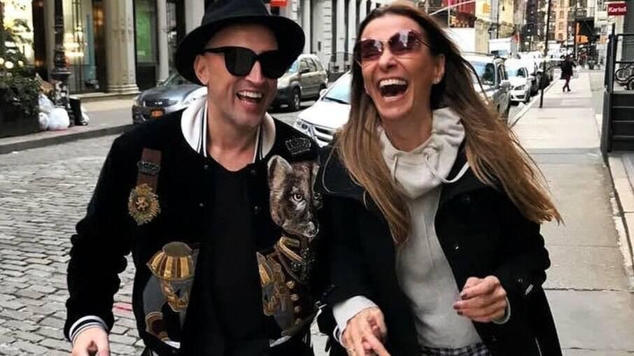 Mônica Martelli, artiz e amiga de Paulo, postou homenagem