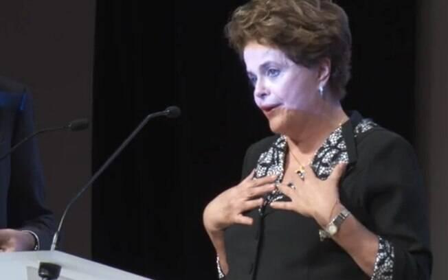Dilma Rousseff afirma que o empreiteiro Marcelo Odebrecht faltou com a verdade