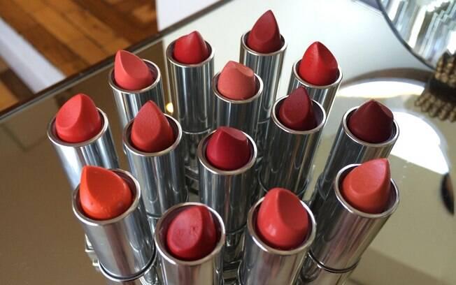Batom vermelho é um curinga na maquiagem