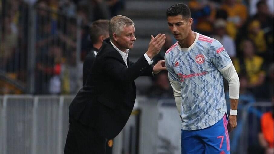 Solskjaer falou sobre suposta influência de Cristiano Ronaldo