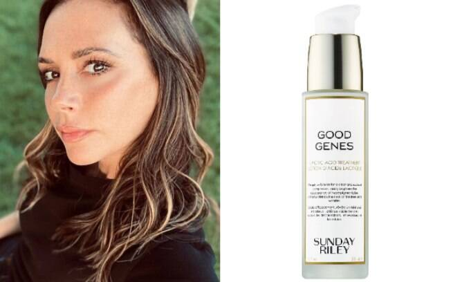 Victoria Beckham e Lactic Acid Treatmens