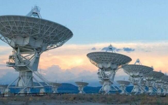Observatório VLA no Estado americano do Novo México permitiu identificar as ondas de rádio em alta resolução