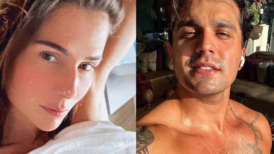 Luan Santana comenta foto sensual de Deborah Secco