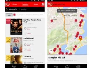 Disponível para Android e agora para iOS, AdoroCinema localiza salas de cinemas mais próximas do usuário