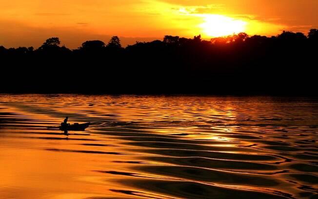 Nada melhor do que a tranquilidade da Floresta Amazônica para passar o réveillon em paz