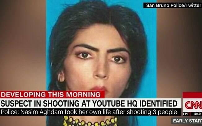 Responsável pelo ataque a sede do YouTube foi identificada como Nasim Aghdam