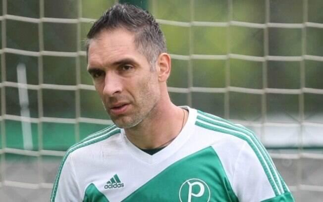 Fernando Prass está fora do Palmeiras