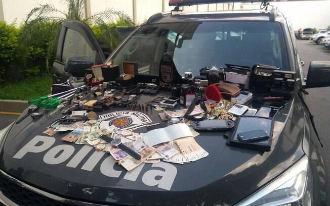 Policiais do Batalhão de Choque ROCAM conseguiram prende grupo que realizava furtos em residências em SP