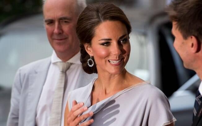 A Duquesa de Cambridge Kate Middleton