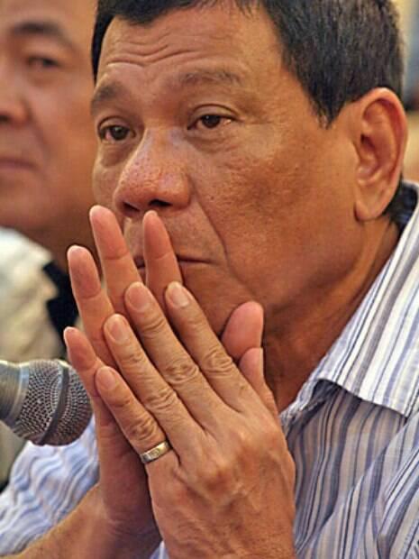 Incêndio aconteceu em Davao, a cidade natal do presidente Rodrigo Duterte