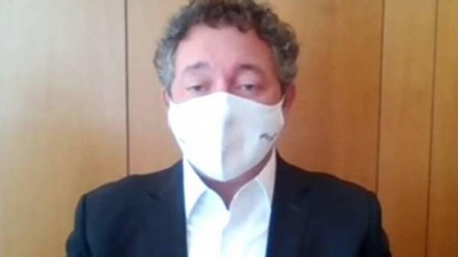 Francisco Maximiano, dono da Precisa Medicamentos e da Global Gestão em Saúde