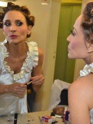 Gabriela Alves nos bastidores