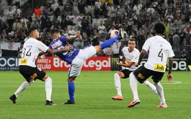 Corinthians e Santo André empatam em 1 a 1 na Arena