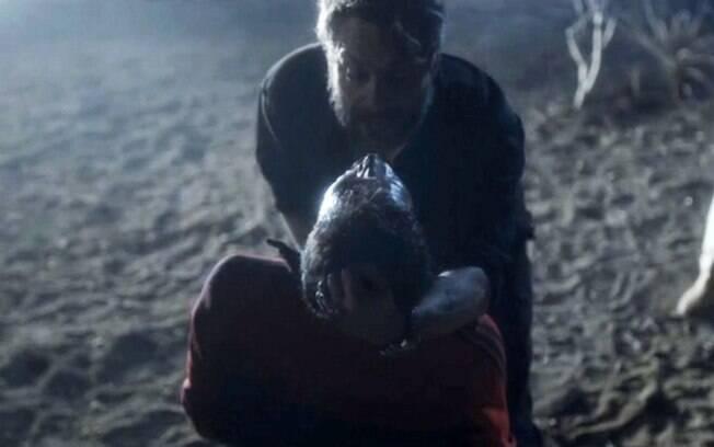 Pedro mostra seu lado violento em cena do primeiro capítulo de
