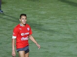 Alexis Sánchez deseja ver muito empenho de toda a equipe chilena contra o Brasil no Mineirão