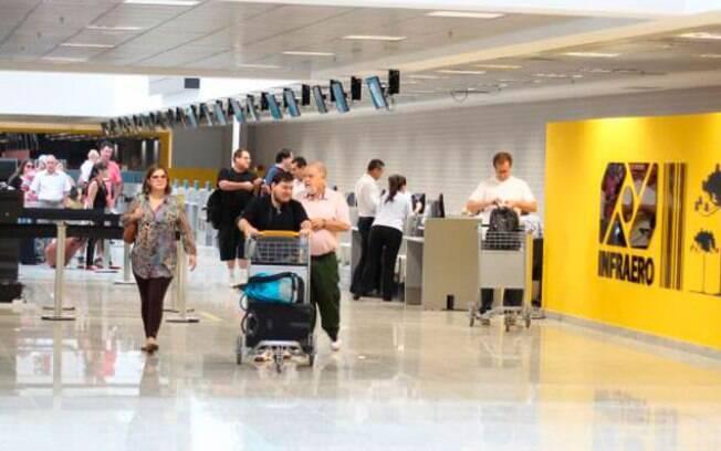 Um dos destaques do aeroporto de Curitiba reconhecidos pela premiação Aeroportos + Brasil promovido pelo Ministério dos Transportes foi o conforto