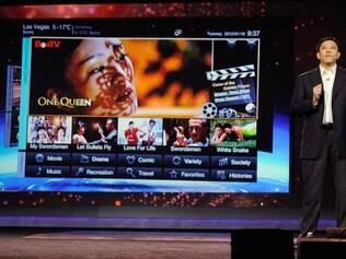 TV da Lenovo havia sido apresentada em janeiro, durante a CES 2012