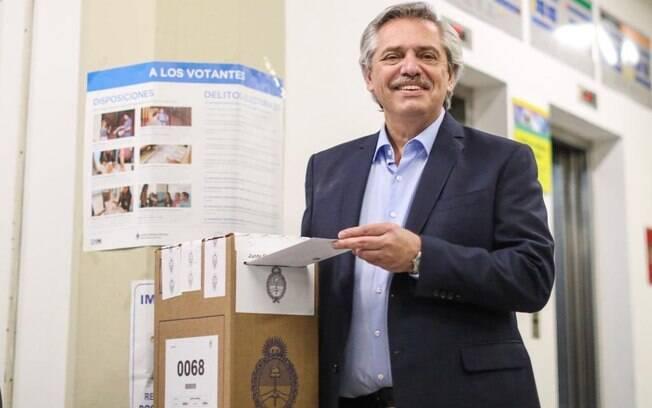 Alberto Fernández foi eleito novo presidente da Argentina