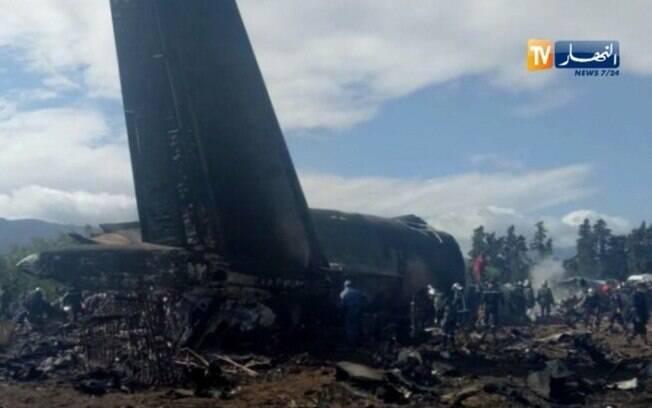 Avião levava 176 soldados e oficiais da Argélia para a cidade de Tindouf, fronteira com o Marrocos
