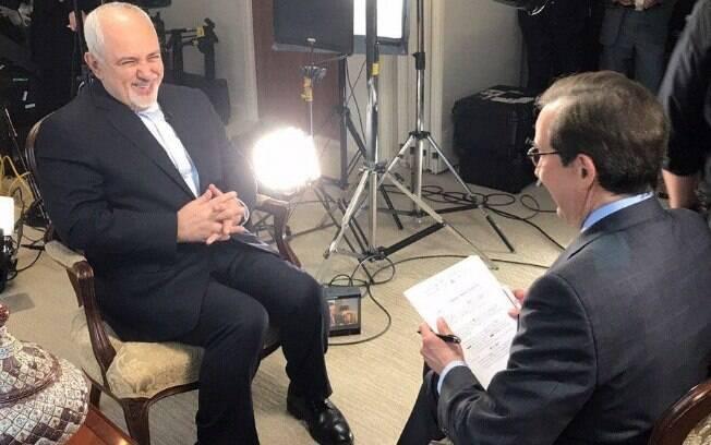 Zarif disse que não há qualquer possibilidade do Irã conversar com Washington