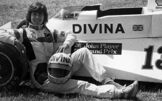 Divina Galica, pilota italiana da Fórmula 1