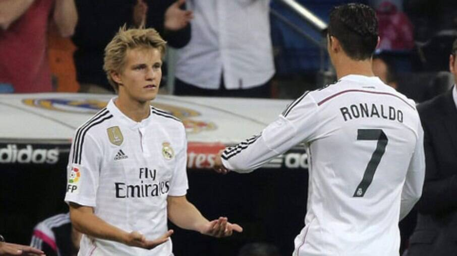 Odegaard relembrou passagem pelo Real Madrid
