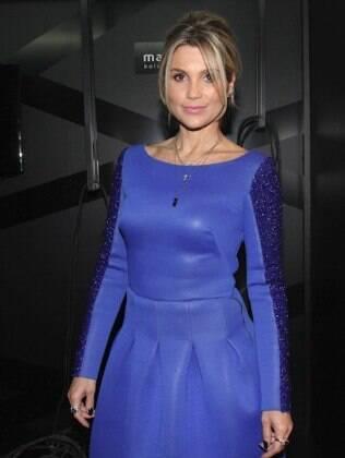 Flávia Alessandra em evento de moda