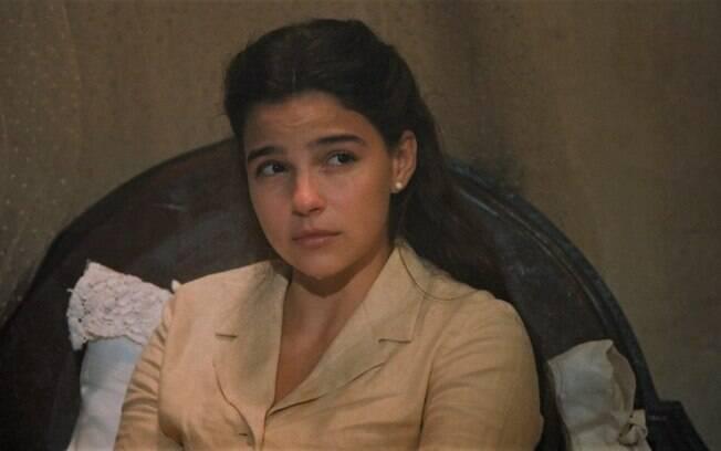 """Nos Tempos do Imperador – Em reencontro após 8 anos, Dolores cospe fogo e expulsa Pilar em briga: """"Esqueça que eu existo"""""""