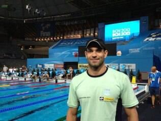 No fechamento da etapa de Mônaco do Mare Nostrum, principal circuito europeu de natação, Nicholas Santos acabou levando o ouro nos 50 m borboleta