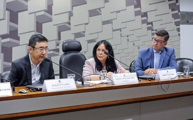 Oitivas de funcionários da Vale, Tractebel Engineering e TÜV SÜD Brasil durante a CPI de Brumadinho no Senado