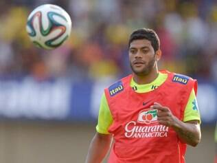 Hulk é a força do atacante do Brasil